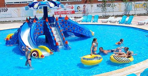 Аквапарк Лето, в Ольгинке, отель Лелюкс, отдых, семейный, с детьми, Черное, море, Краснодарский, край, Ольгинка,